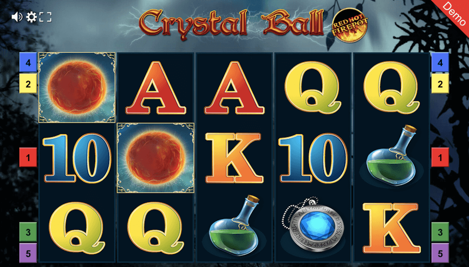 Crystal Ball Red Hot