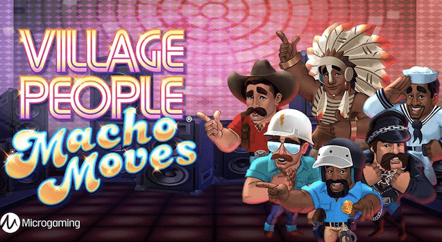 Conheça a Slot Village People Macho Moves